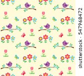 seamless vector pattern with... | Shutterstock .eps vector #547968472