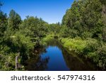 beautiful views of the river in ... | Shutterstock . vector #547974316