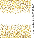 vector background with gold... | Shutterstock .eps vector #547995166
