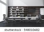 3d rendering meeting room for... | Shutterstock . vector #548010682