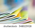 close up edge of colorful... | Shutterstock . vector #548025928
