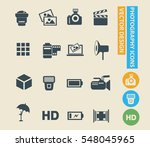 photography icon set vector | Shutterstock .eps vector #548045965