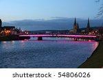 Bridge Over The River Ness In...