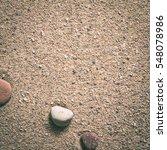zen garden sand waves and rock... | Shutterstock . vector #548078986