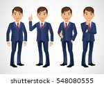 elegant people businessman | Shutterstock .eps vector #548080555