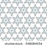 abstract snowflakes in a... | Shutterstock . vector #548084056