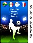soccer player | Shutterstock .eps vector #54809395