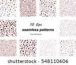tile decoration hand drawn... | Shutterstock .eps vector #548110606