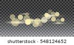 golden glitter bokeh lights and ...