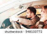 young man takes control of a... | Shutterstock . vector #548133772