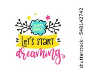 vector poster with phrase ...   Shutterstock .eps vector #548142742