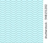 wavy thin line seamless pattern.... | Shutterstock . vector #548151202