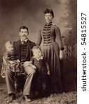1800s Antique Family Portrait...