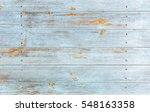 weathered blue wooden... | Shutterstock . vector #548163358