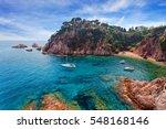 seascape . mediterranean coast...   Shutterstock . vector #548168146