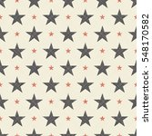 seamless pattern with stars in... | Shutterstock .eps vector #548170582