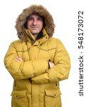 portrait of smiling man in...   Shutterstock . vector #548173072