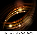 abstract energy waves. vector...