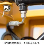 tube with bolts on a car | Shutterstock . vector #548184376