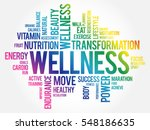 wellness word cloud  fitness ... | Shutterstock .eps vector #548186635