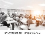 blurred picture of student... | Shutterstock . vector #548196712