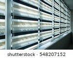 window fabric blinds | Shutterstock . vector #548207152