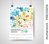 abstract colorful poster design ...   Shutterstock .eps vector #548210656