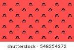 happy daughter pattern happy... | Shutterstock .eps vector #548254372
