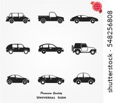 car icons | Shutterstock .eps vector #548256808