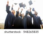 education  graduation and... | Shutterstock . vector #548265835