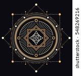 sacred symbols design  ... | Shutterstock .eps vector #548269216