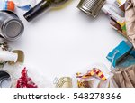 photo debris for recycling... | Shutterstock . vector #548278366