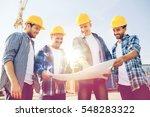 business  building  teamwork... | Shutterstock . vector #548283322