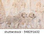 Bas Relief Sculpture Of Human...