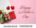 text happy mother's day and... | Shutterstock . vector #548308348