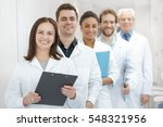 your health is their priority.... | Shutterstock . vector #548321956