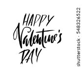 vector happy valentines day... | Shutterstock .eps vector #548326522
