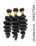 loose wave black human hair...