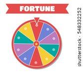 wheel of fortune illustration.... | Shutterstock . vector #548332252