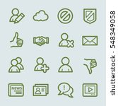 community. social media icons... | Shutterstock .eps vector #548349058