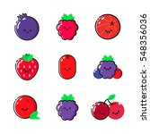 collection of icons with... | Shutterstock .eps vector #548356036