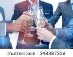 close up of business team... | Shutterstock . vector #548387326