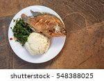 traditional east african food   ... | Shutterstock . vector #548388025