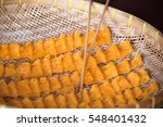angel hair  called in... | Shutterstock . vector #548401432