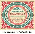 art deco label | Shutterstock .eps vector #548402146