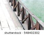 Antique Old Wooden Bridge...