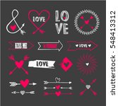 vector illustration of... | Shutterstock .eps vector #548413312