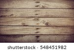 old wooden plank have space use ... | Shutterstock . vector #548451982
