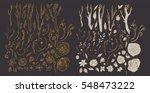 floral vintage pattern  retro...   Shutterstock .eps vector #548473222
