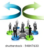 business concept | Shutterstock .eps vector #54847633